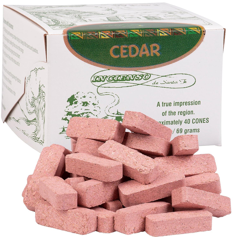 独特な店 (40 Brick) Incense - Cedar Wood Incense Santa - Fe 80 Bricks (Cones) by Incienso De Santa Fe B001BAF59Y, メンズショップ サカゼン:da515347 --- egreensolutions.ca