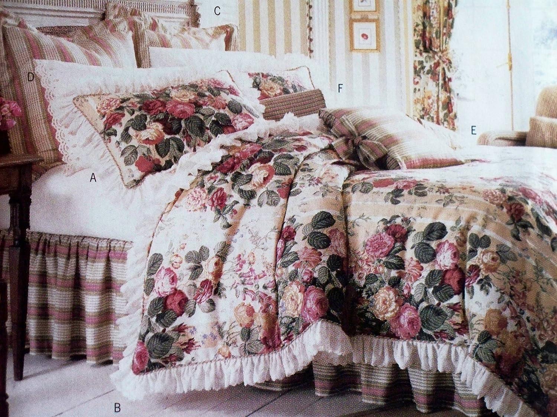 Butterick 6370 Sewing Pattern Meadow Way Bedroom Decor Duvet Cover Pillow Sham Dust Ruffle