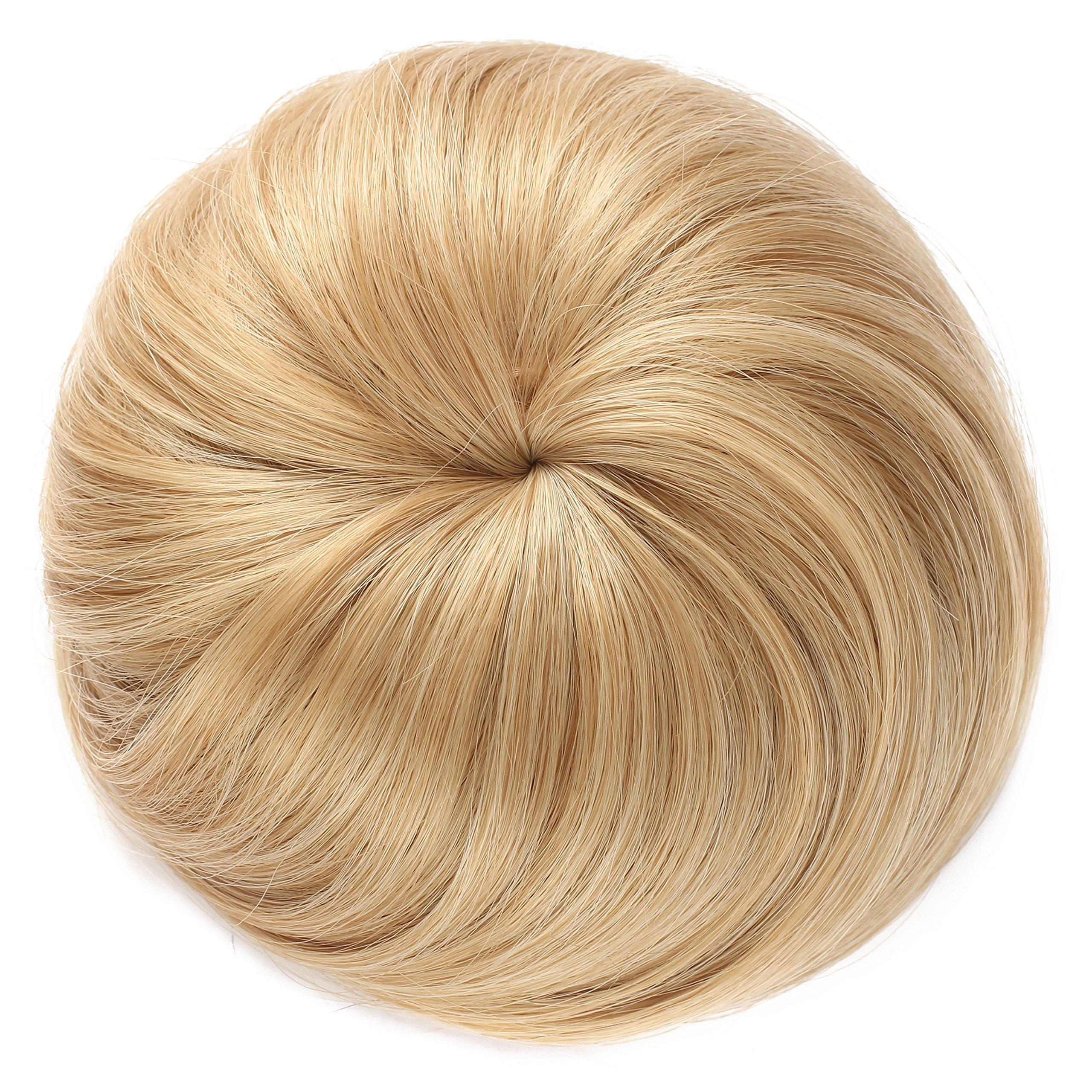 OneDor Synthetic Hair Bun Extension Donut Chignon Hairpiece Wig (27/613)