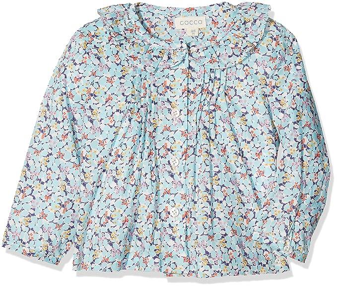 Gocco Camisa Liberty, Blusa para Bebés, (Turquesa Brillante), 12-19 Meses: Amazon.es: Ropa y accesorios