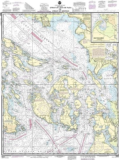 Amazon.com: 18421 -- Strait of Juan de Fuca to Strait of ...