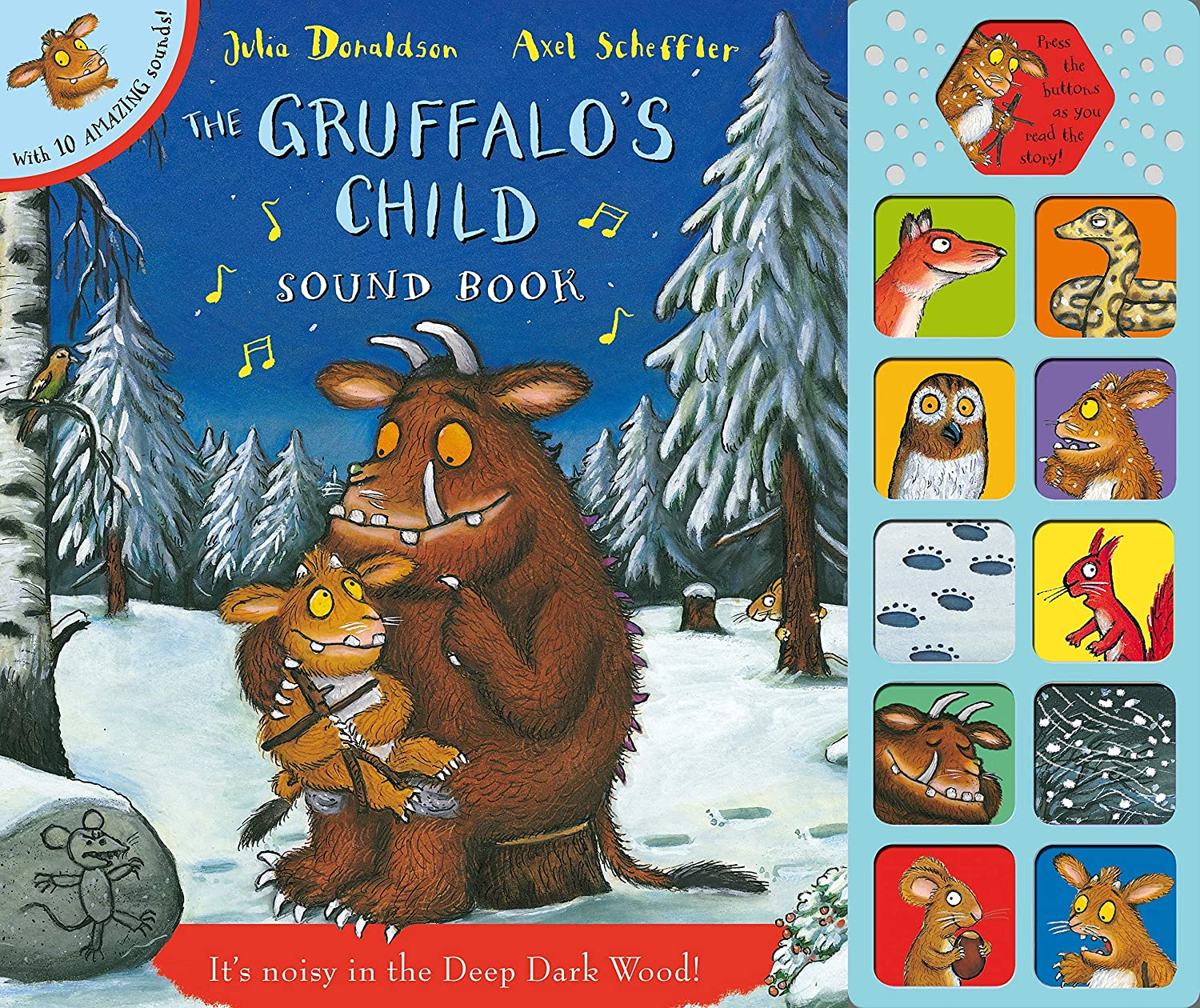 Gruffalo The Child an Oversize Sound Book for Little Hands