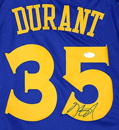 Kevin Durant Golden State Warriors Signed Autographed 2018 New Style Blue  35  Jersey Size 44 36df47a8c