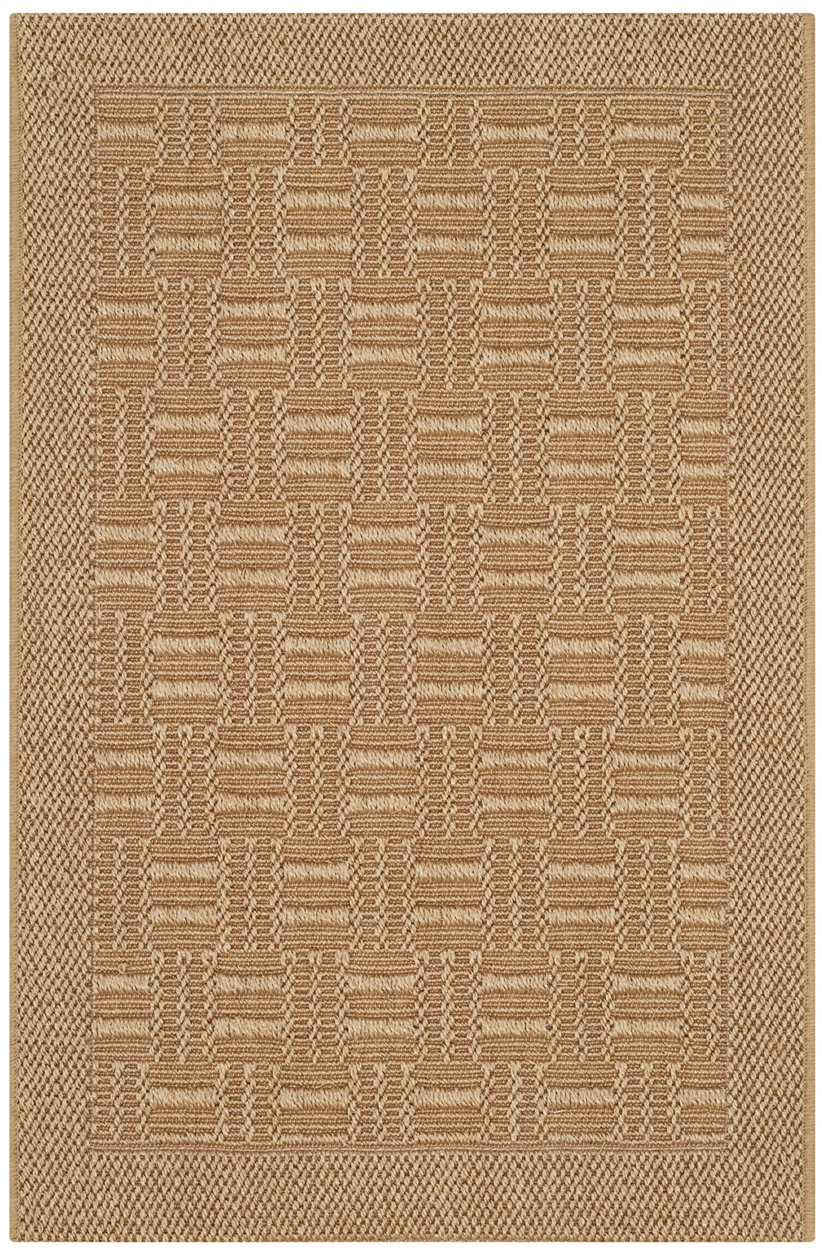 Safavieh Palm Beach Collection PAB359M Maize Sisal & Jute Area Rug (2' x 3')
