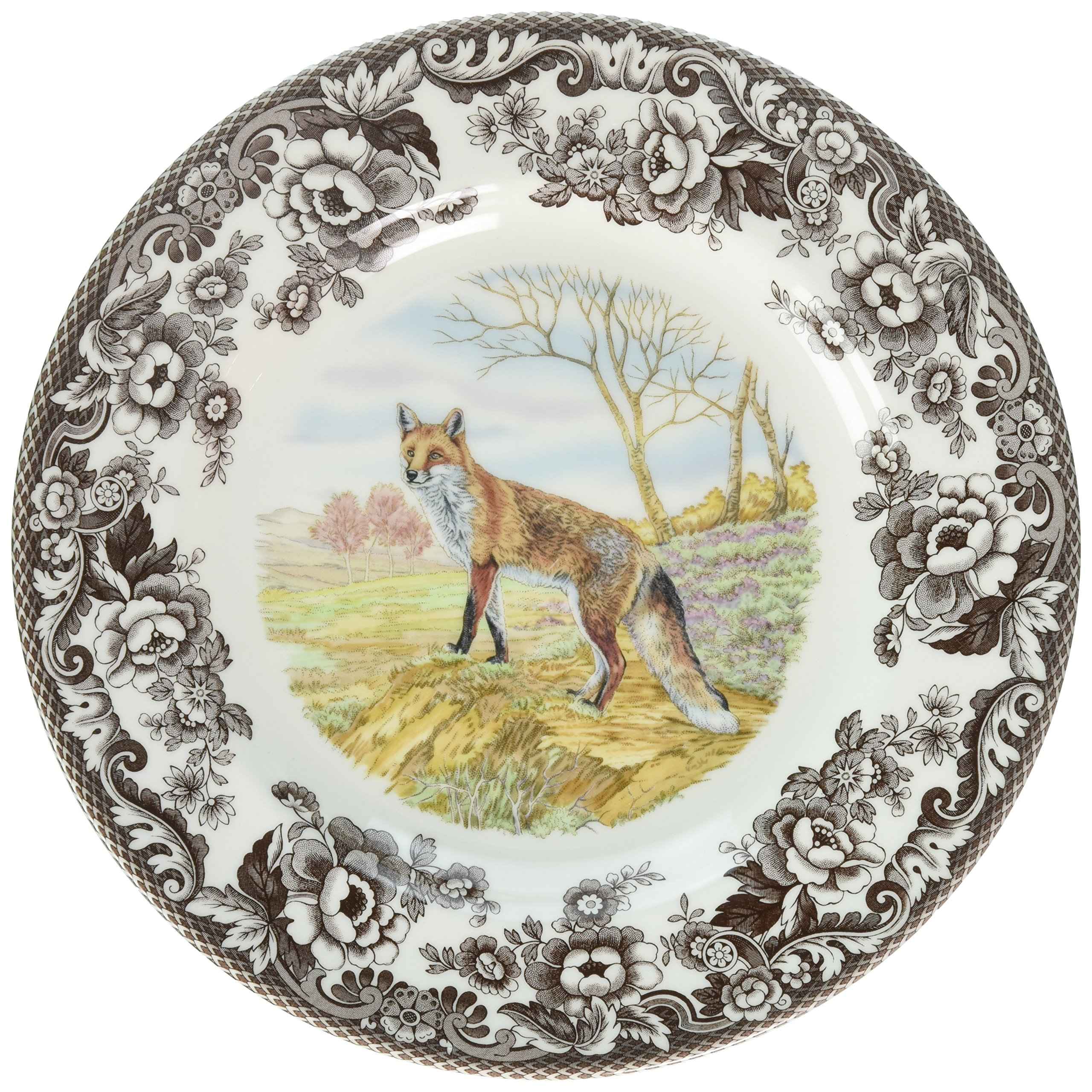 Spode 1607262 Woodland Red Fox Dinner Plate