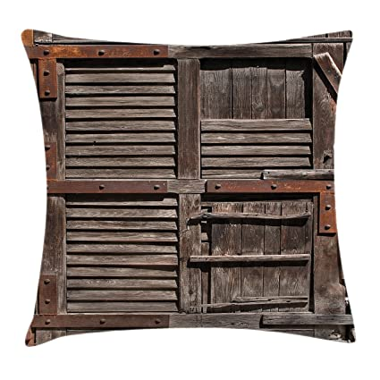 Amazon Ambesonne Rustic Throw Pillow Cushion Cover Vintage Unique Cottage Style Decorative Pillows