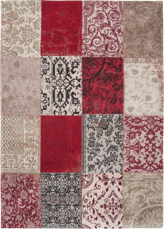 Louis de Alfombra Poortere – Funda Vintage Multi 8985 Amberes Rojo ...