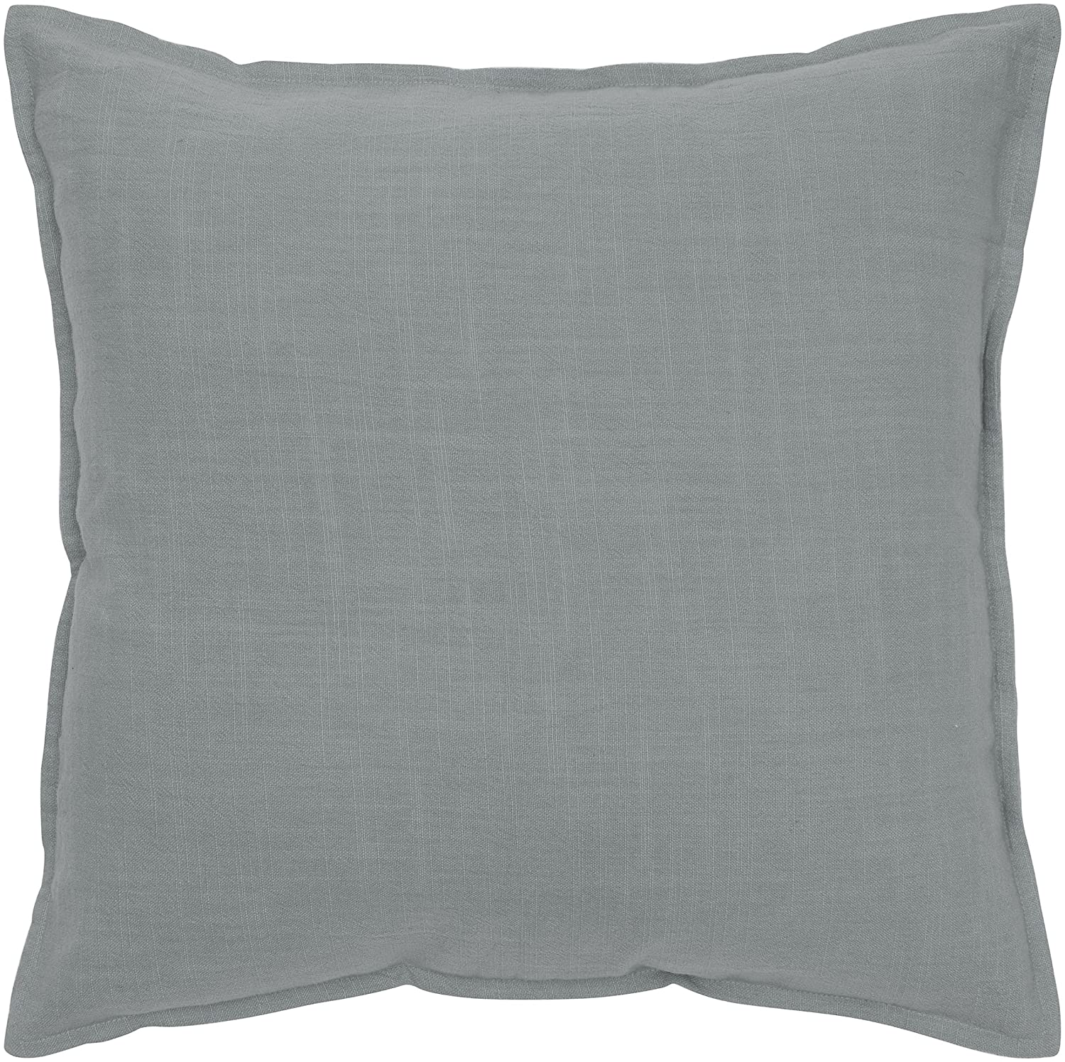 Rizzy Home T03427 Decorative Solid Poly Filled Throw Pillow 20 x 20 Brown T-3427