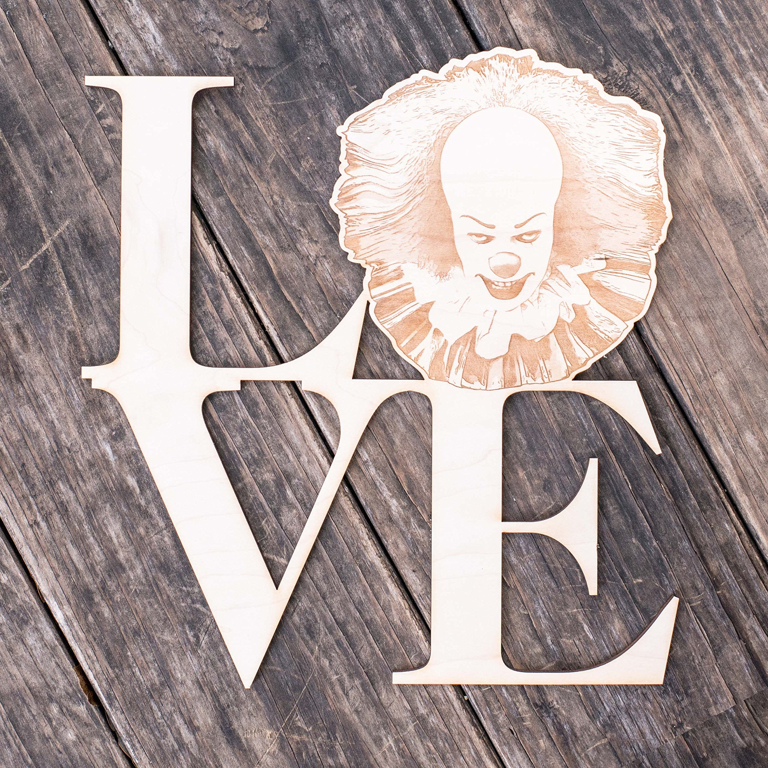 Love Sign - Scary Clown - The Geek Collection
