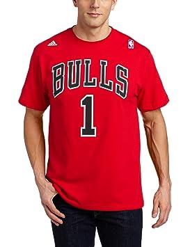 Adidas Camiseta con Nombre y número de la NBA Chicago Bulls Derrick Rose, Hombre, 2998A004DEKURCC, Chicago Bulls, X-Large: Amazon.es: Deportes y aire libre