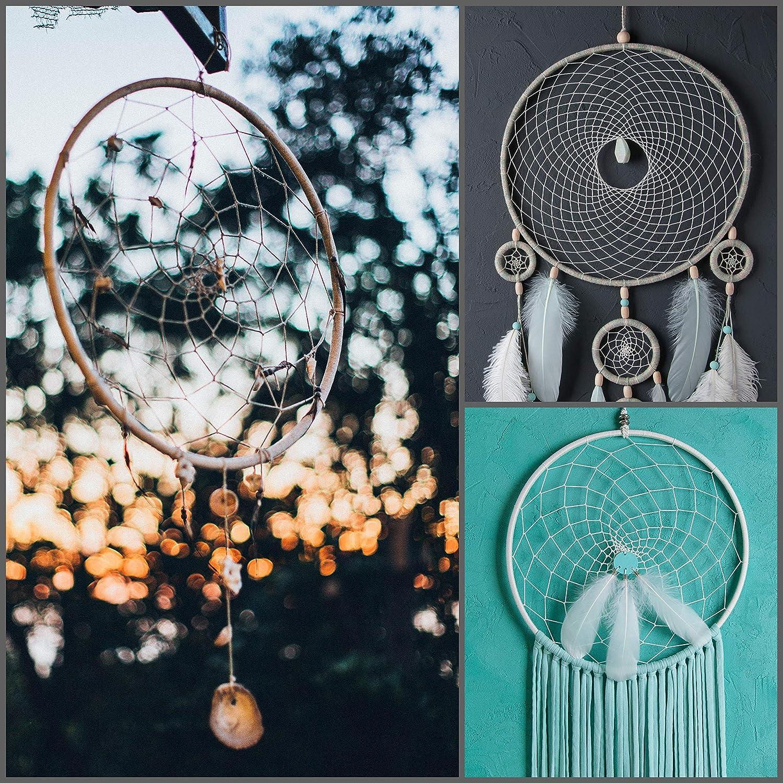 5 St/ück 5 Gr/ö/ßen Runde Stickrahmen Bambus Kreis f/ür DIY Kunst Handwerk Praktische N/ähen