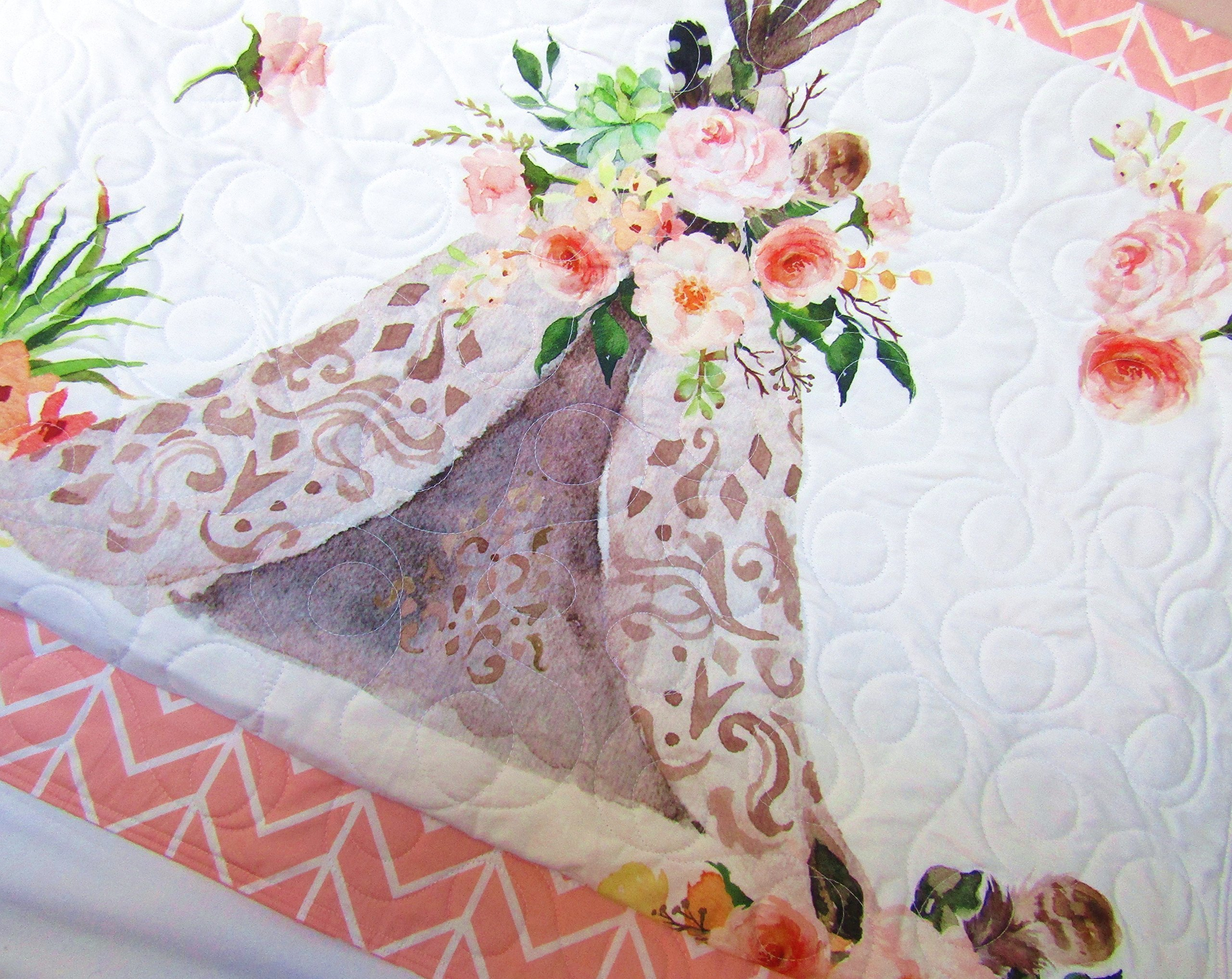 Baby Girl Teepee Quilt