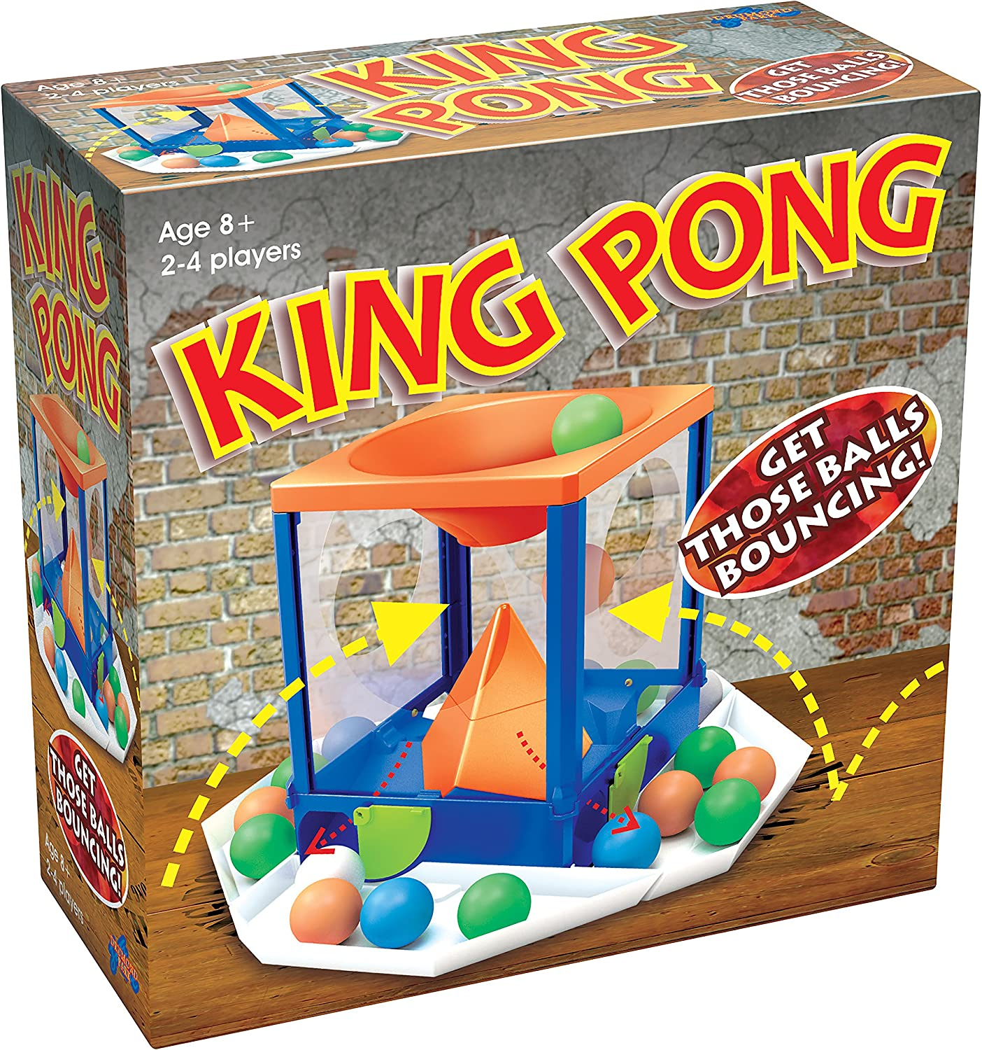 Family Fun Action Ball Game King Pong Game