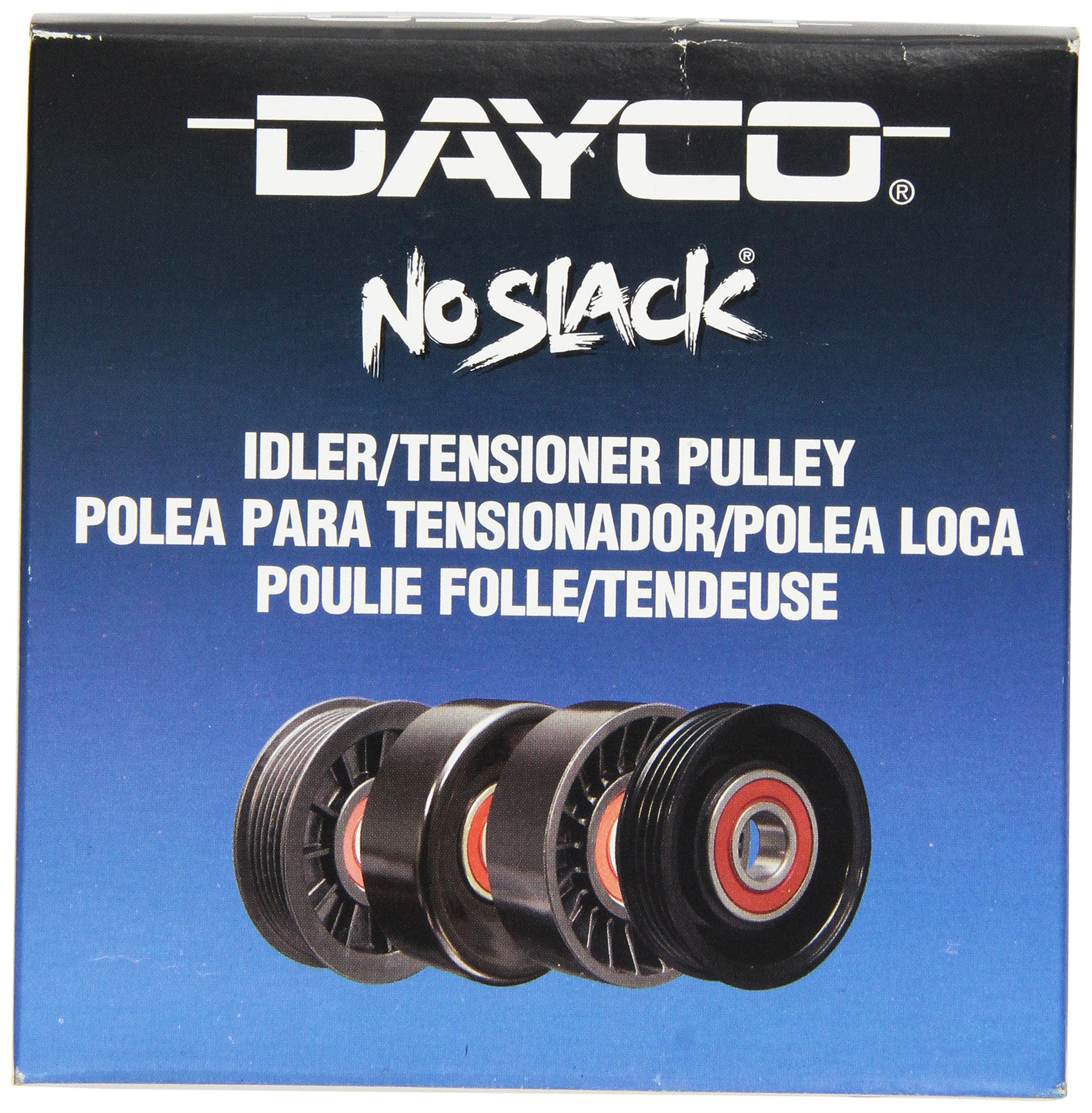 Dayco 89130 Idler Pulley by Dayco