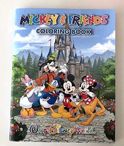Amazon.com: Walt Disney World Mickey Friends Coloring Book: Toys & Games