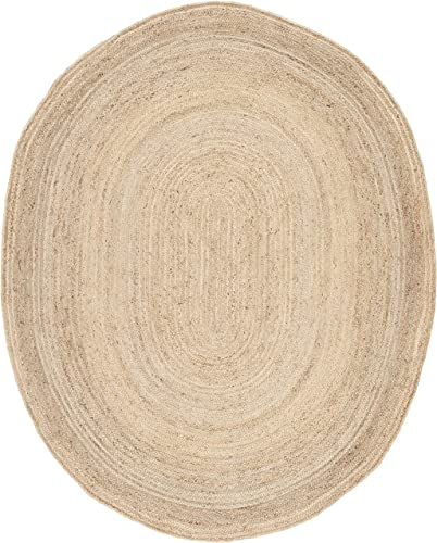Safavieh Cape Cod Collection CAP252A Hand Woven Natural Jute Area Rug 9' x 12'