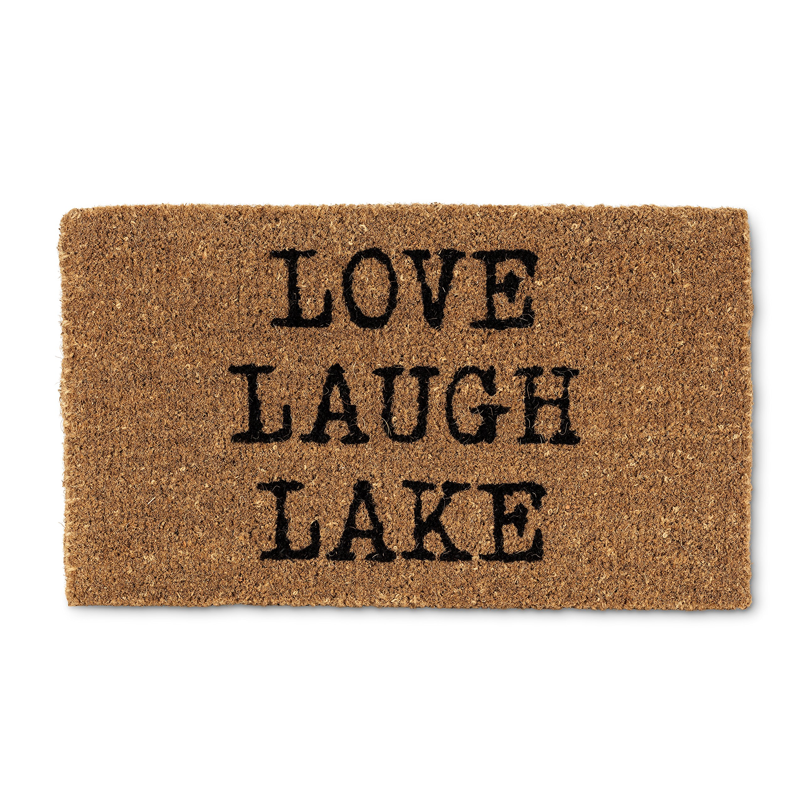 Abbott Collection 1235-Fwd/Love Love, Laugh, Lake Doormat