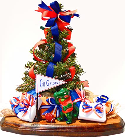 Amazon.com: Florida Gators Christmas Ornament Tree Team Spirit Fan ...