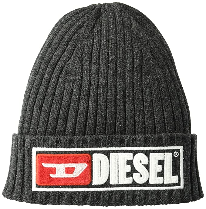 Diesel Men s K-Coder-B Cap Beanie Hat 61de205b3d75