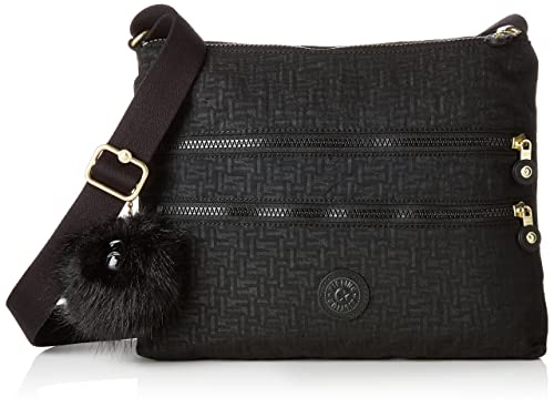 822e1e987 Kipling Alvar, Women's Cross-Body Bag, Black (Black Pylon Emb), 4.5 ...