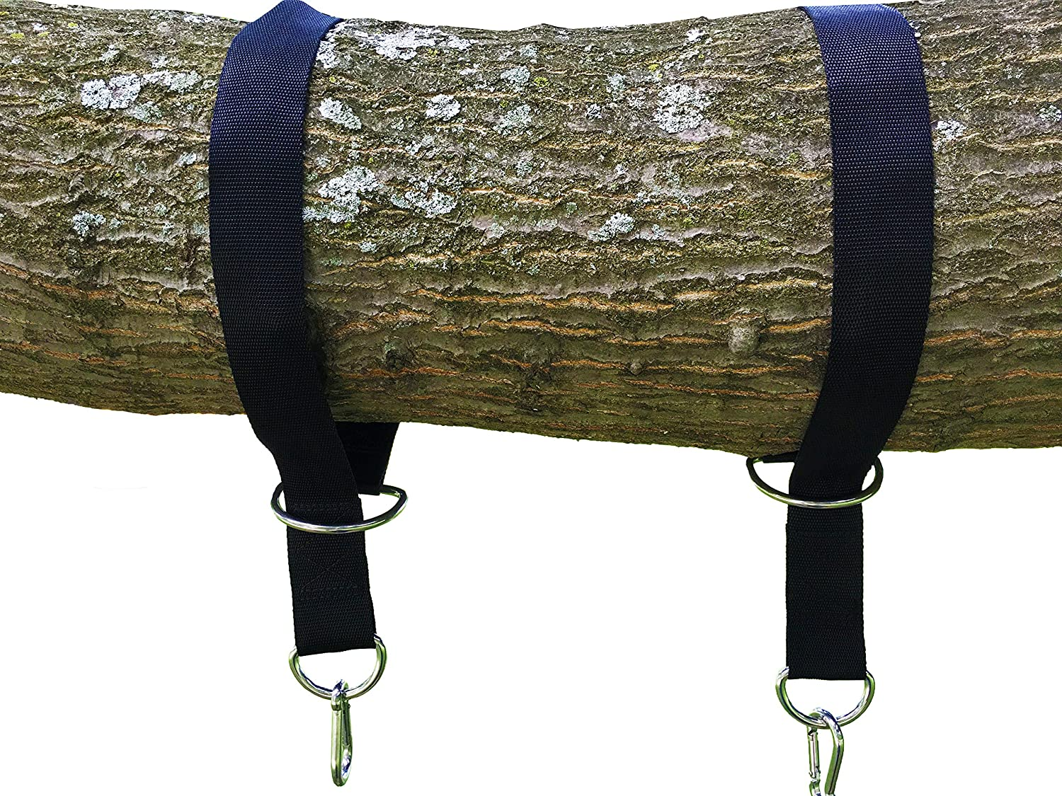 The tree swing hanging kit holds 1200lbs easy fast Wood tree swing and hanging kit