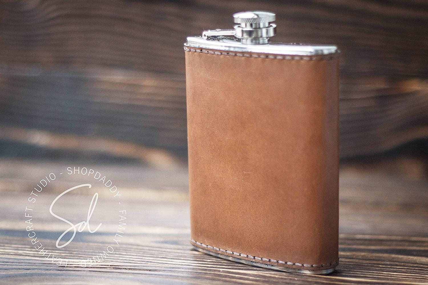 Leather Flask, Personalized Flask, Engraved Flask, Monogrammed Flask,Whiskey Flask,Groomsman Gift,Mens Flask,Steel Flask,Grooms Gift For Him