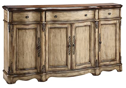 Amazon Com Stein World Furniture Gentry Credenza Antique Dustry