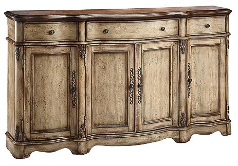 Wonderful Stein World Furniture Gentry Credenza, Antique Dustry Linen