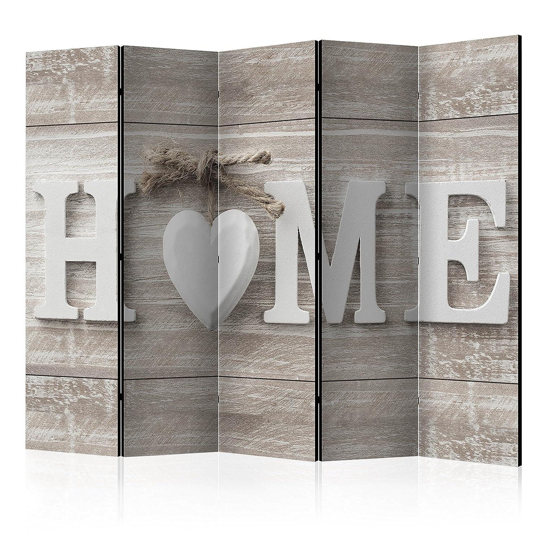 Murando Raumteiler Pinnwand Foto Paravent Holz Optik Home Holz