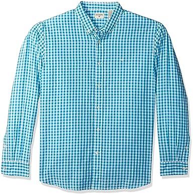 0ed30309f52 Dockers Men s Poplin Long Sleeve Button-Front Shirt at Amazon Men s ...