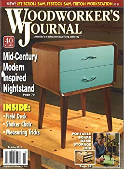 1-Year Woodworker's Journal Magazine Subscription
