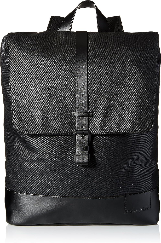Calvin Klein Men's Coated Canvas Backpack