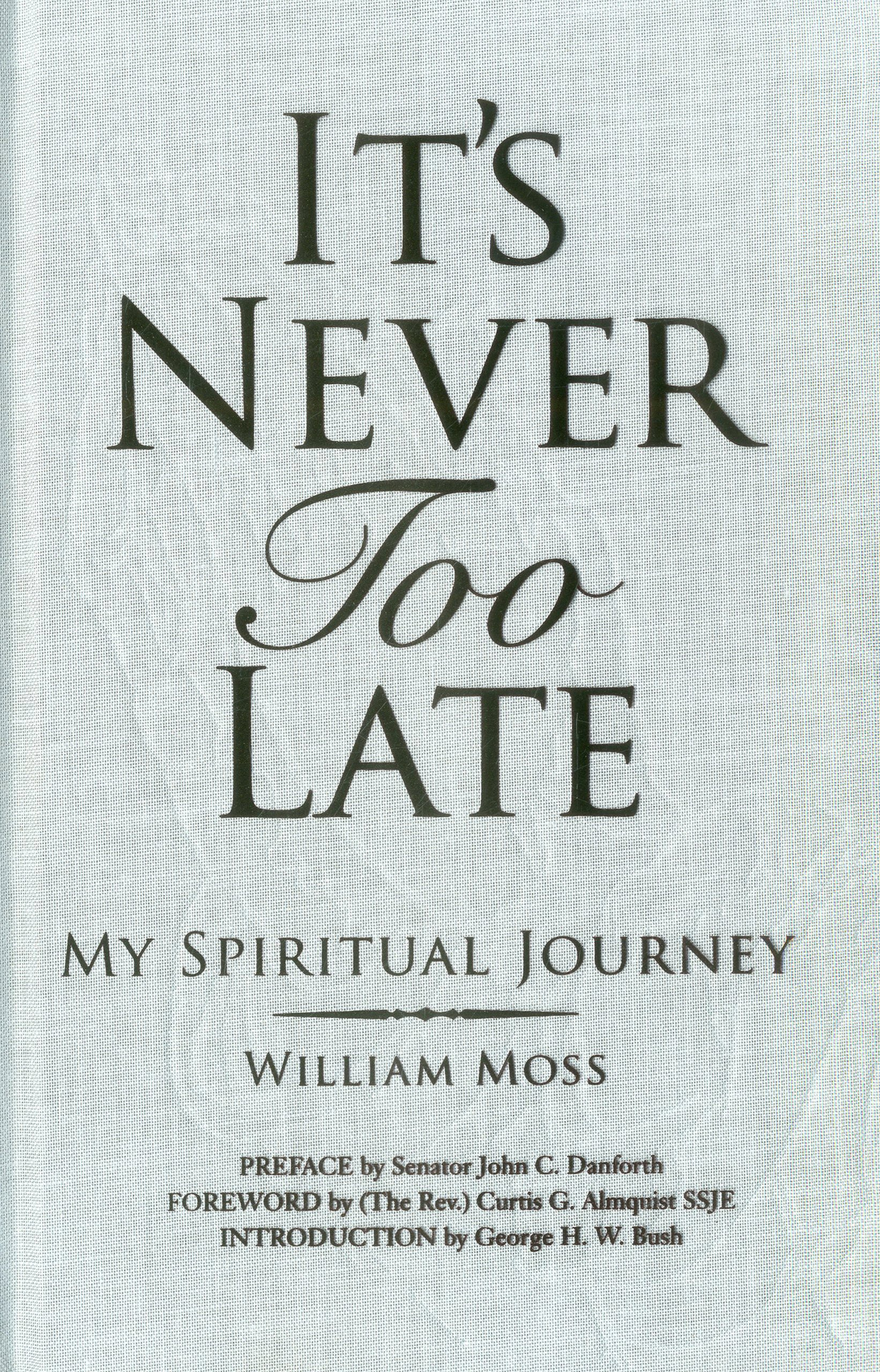 Its Never Too Late Spiritual product image