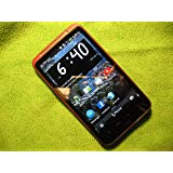 HTC Inspire 4G A9192 Unlocked GSM Smartphone w/ 8MP Camera - Red