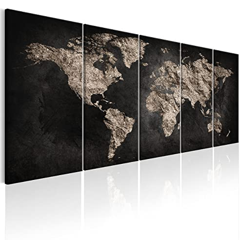 Murando   Bilder Weltkarte 225x90 Cm   Leinwandbilder   Fertig Aufgespannt    Vlies Leinwand   5