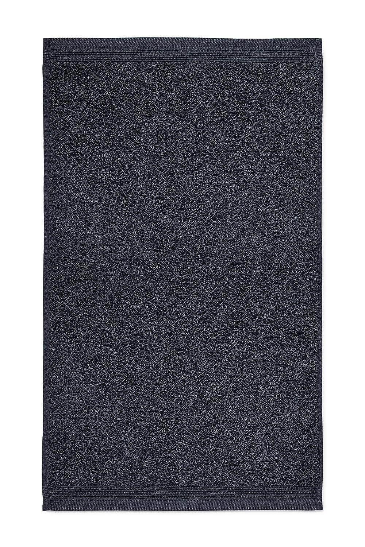 Möve Superwuschel Uni Towel, Dark Grey, 20 x 15 cm, Cotton 017258775/020015/820