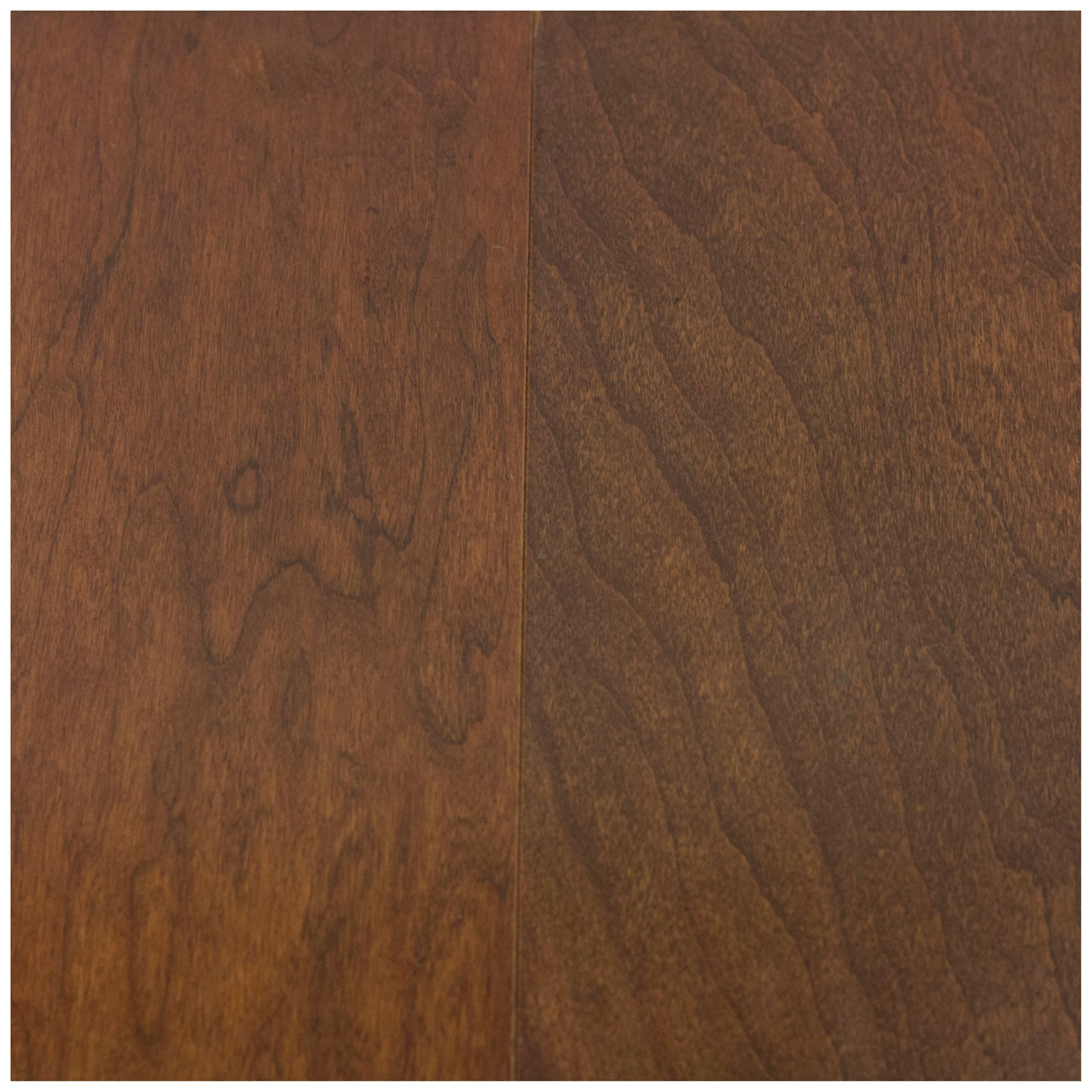 Moldings Online 2164196003 96''x 0.44''x 3.5'' Mannington Chestnut Collection: Caspian Lock and Go Collection Cherry Wall Base, Length: 96'' by Moldings Online (Image #2)