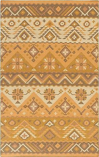 Surya Jewel Tone JT-2055 Hand Woven Wool Southwest Area Rug, 9-Feet by 13-Feet