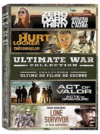 Ultimate War Collection Zero Dark Thirty, The Hurt Locker, Act of