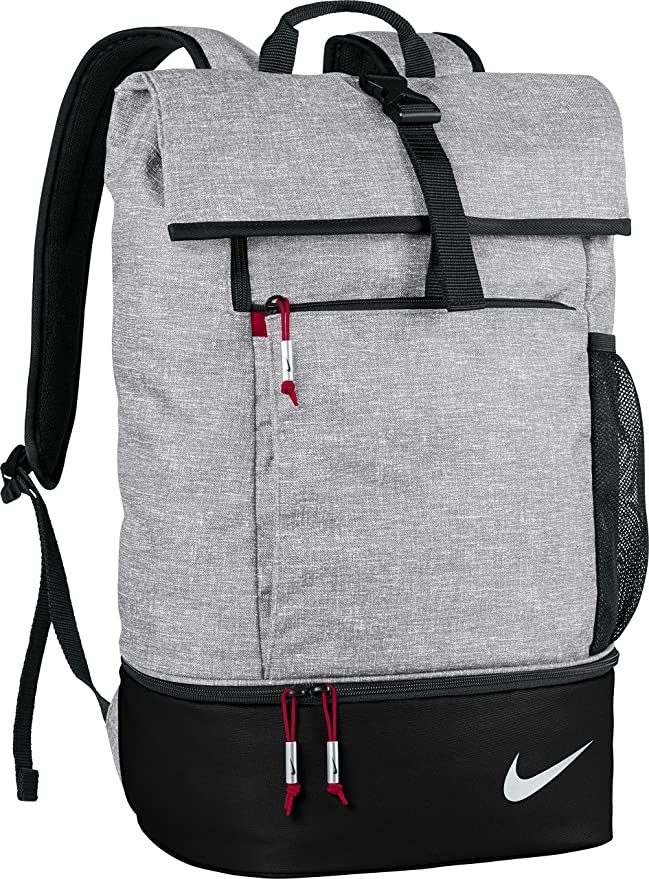 cc2dd6521a2 Amazon.com  Nike Sport III Golf Backpack (Black Heather)  Sports   Outdoors
