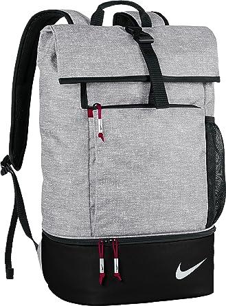 b3571746fa Nike Golf Sport Top-Zaino Pieghevole Nero Silver/Black/Gym Red Taglia  Unica: Amazon.it: Sport e tempo libero
