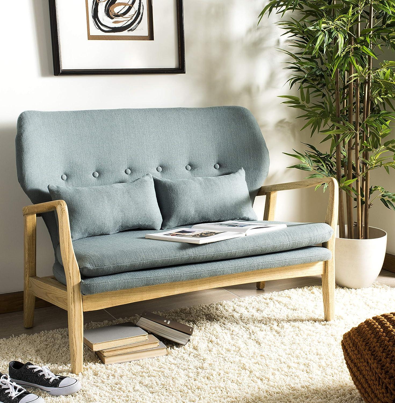 Magnificent Amazon Com Safavieh Home Collection Ellaria Blue And Inzonedesignstudio Interior Chair Design Inzonedesignstudiocom