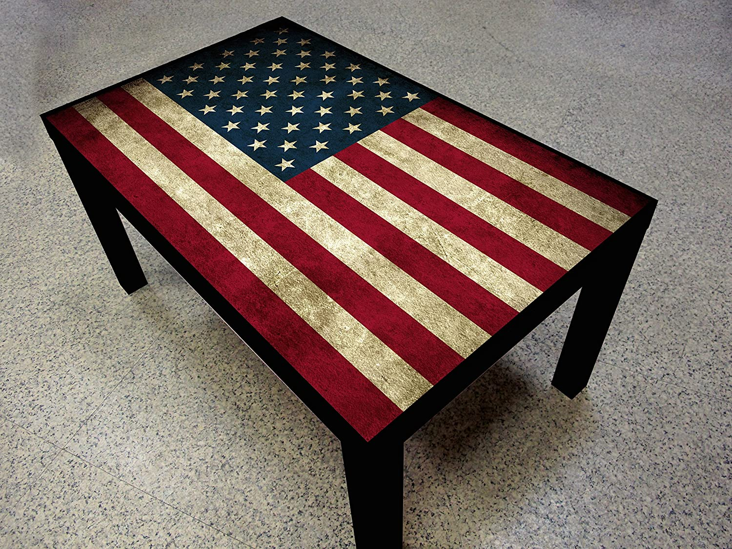 Amazon American Flag Coffee Table Kitchen Dining