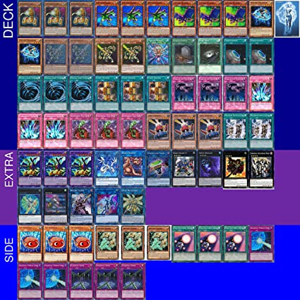 Amazon.com: YuGiOh torneo listo ABC Deck con extra & lateral ...