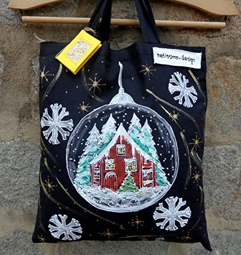 Sale20 OffChristmas Shopping BagCotton Tote Bag