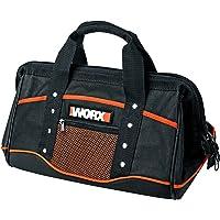 WORX WA0076 opbergtas – gereedschapskoffer zonder gereedschap in eenvoudig zwart met dubbele draaggreep – voor het…