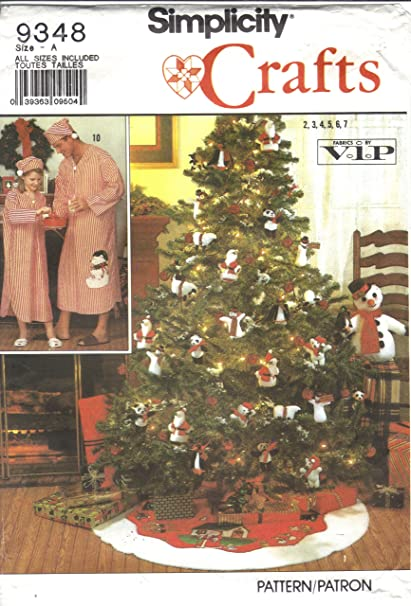 Amazon Simplicity 9348 Crafts Christmas Sewing Patterns Arts