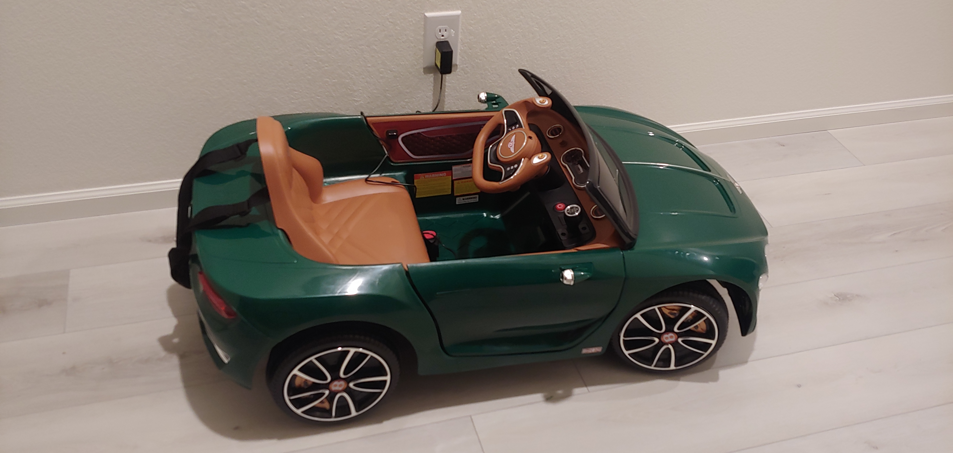 12V Bentley Ride On Car With Remote Control For Kids, Blackish Green photo review