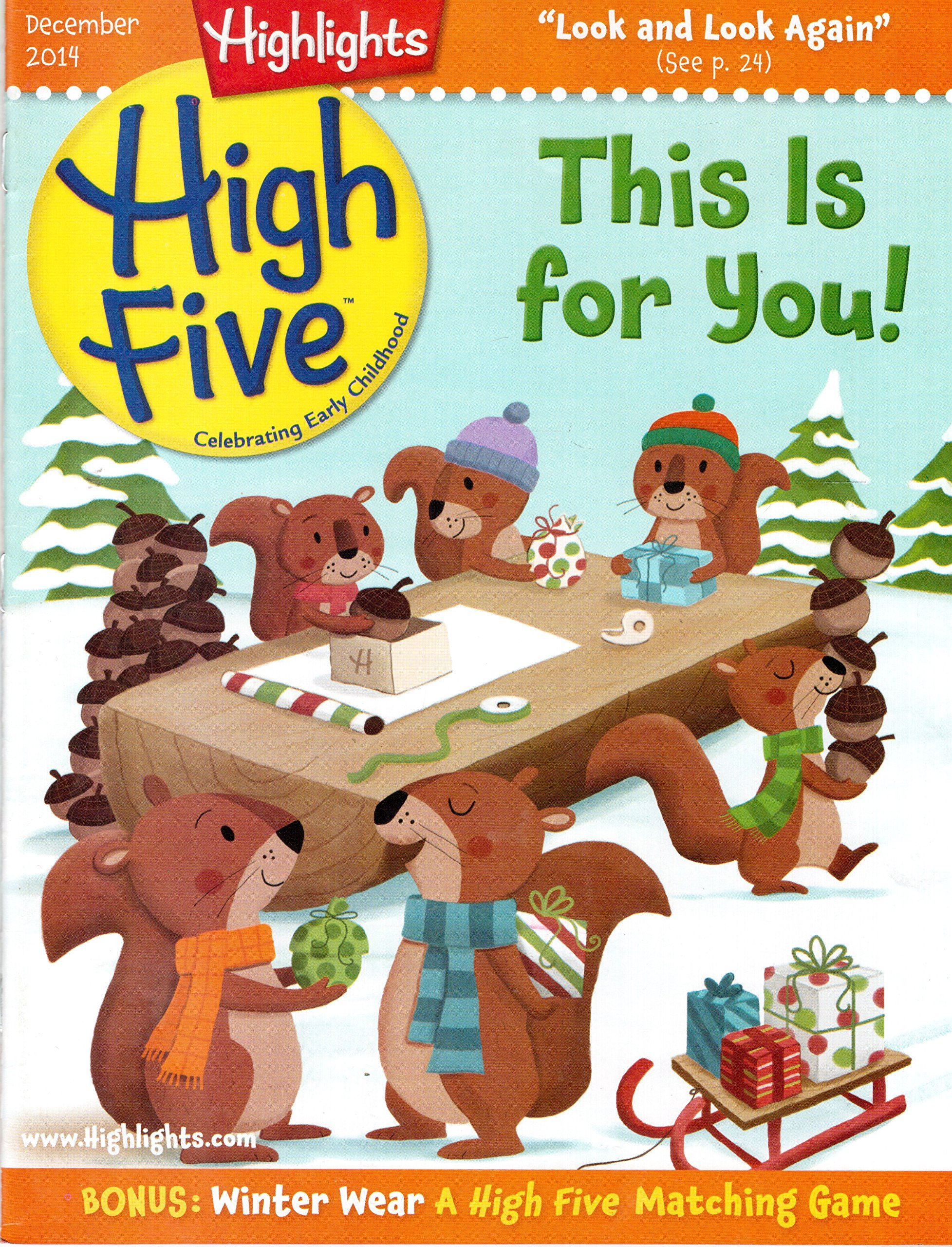 Highlights High Five Magazine December 2014 PDF