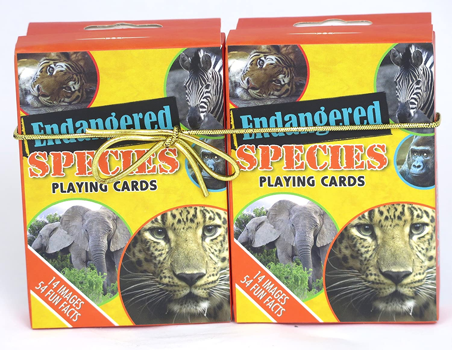 Endangered Species Playing Cards double deck Game Cards